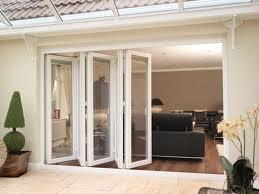 Bi-folding doors upvc - 3 pane
