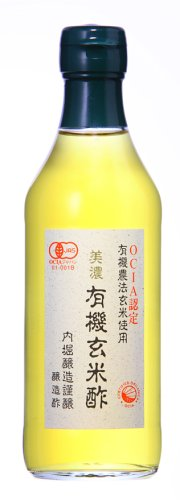 Uchibori organic Brown rice vinegar 360 ml