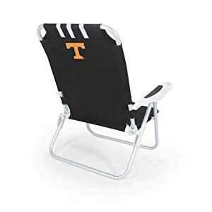 NCAA Tennessee Volunteers Monaco Folding Beach Chair by Picnic Time