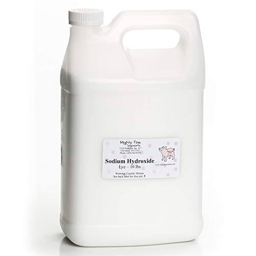 Sodium Hydroxide for Soapmaking [10 lb]