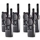 Motorola CLS1410 UHF Frequency Professional Two Way Radio (6-Pack) (Color: Black)