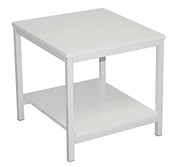 Table d 39 appoint verny blanc cuisine blanc cuisine for Table d appoint cuisine
