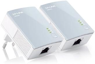 TP-LINK TL-PA411KIT - Nano Extensor de red por línea eléctrica (AV500 Mbps, 3 años de garantía, sin configuración)