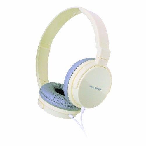 Zumreed Zum-80379 Metro Smart Stylish And Colorful Over The Ear Headphones, White