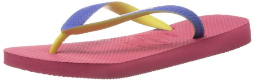 Havaianas Unisex-Child K Top Mix Thong Sandals 4115549.5207.334 Neon Pink 2 UK, 36 EU