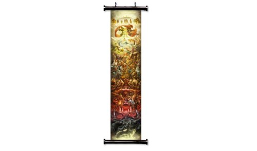 Legend of Zelda 25th Anniversary Game Fabric Wall Scroll Poster (16 x 87) Inches