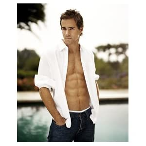 Ryan Reynolds Jeans on Amazon Com  Sexy Ryan Reynolds Open Shirt Blue Jeans By The Pool 11x17