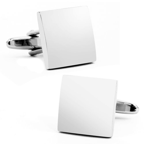 Domed Square Cufflinks