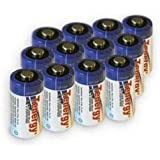 Combo: 12pcs Tenergy Propel 3.0V CR123A High Power Lithium Battery with PTC Protection