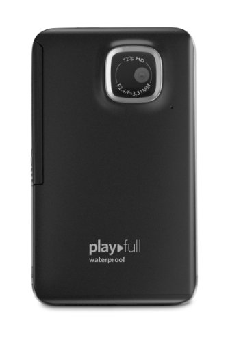 Kodak PlayFull Waterproof Video Camera (Black) [with 4GB SD card]