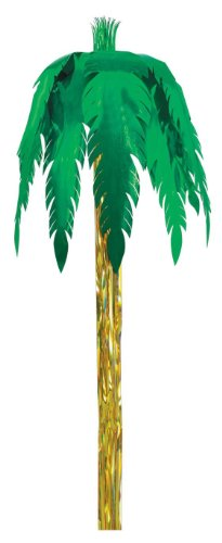 Metallic Giant Royal Palm Party Accessory (1 count) (1/Pkg)