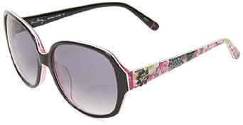 Vera Bradley Women's Lillian VB-LILL-0PPK-S57S16 Oval Sunglasses,Priscilla Pink,57 mm