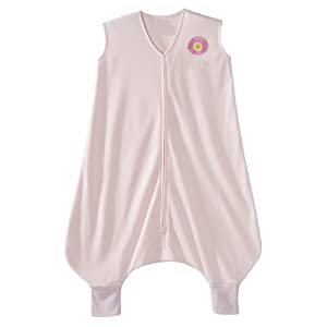 HALO Early Walker SleepSack Lightweight Knit Wearable Blanket, Pink, Large