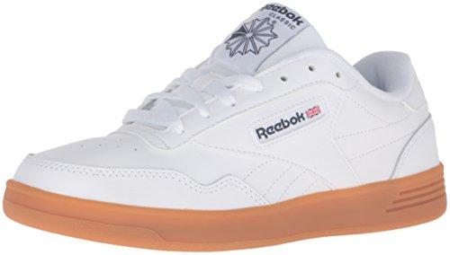 Reebok Men's Club MEMT Fashion Sneaker, White/Collegiate Navy/Gum, 7.5 M US