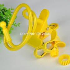 UVAA UNIVERSAL FLEXIBLE MOBILE HOLDER Yellow Color