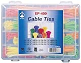 PRO POWER (FORMERLY FROM SPC) - SPC35327 - 400-PC. NEON-COLORED CABLE TIE ASSORTMENT