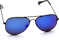 Optis Aviator Sunglasses (Black) (SRSXC1L3)