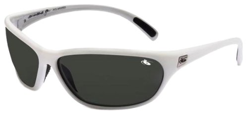 Bolle Venom Polarized Sunglasses- White Silver