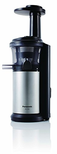Primada Slow Juicer Soy Milk : Panasonic MJ-L500 Slow Juicer with Frozen Treat Attachment, Black/Silver Home Garden Kitchen ...