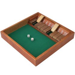 Shut the Box (1-10) Zero Out Game 1 - 10. Product Category: Toys & Games > Games