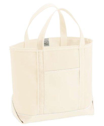(エルエルビーン) LL Bean 別注キャンバストートバッグ ラージホワイトCustom Tote Bag LARGE all white 日本未入荷 (並行輸入品)