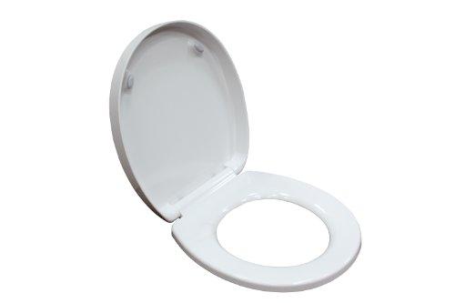 American Standard 5121.110.020 Boulevard Luxury Round Front Toilet Seat, White