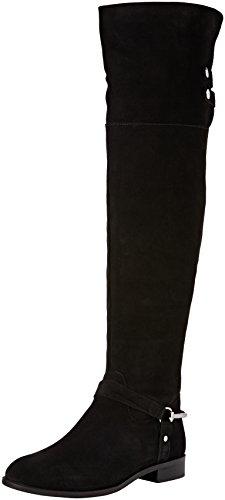 Carvela 7901200209, Stivali Sopra il Ginocchio Donna, Nero (Black), 39.5 EU