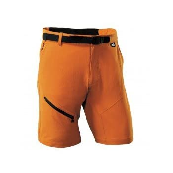 MILLET Trekker stretch Short montagne homme miv4509 orange