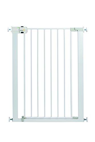 Safety 1st Easy Close Extra Tall protezione per scale, extra alto tütschutz griglia in metallo per morsetto, Bianco, estendibile fino a 94cm