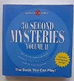 img - for 30 Second Mysteries, Vol 2 book / textbook / text book