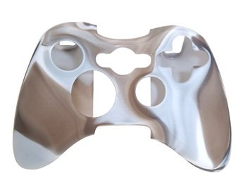Camouflage Silicone Case for Xbox 360 Wireless Controller (Camouflage White) + Worldwide free shiping