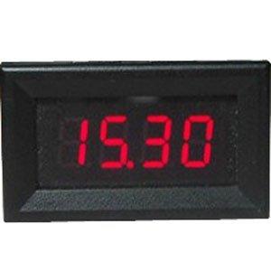 """Riorand 0.36"""" Digital Voltmeter 4 Digit Red Led Display Panel Meter 4.5-30V Voltage Tester"""