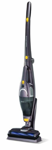 Morphy Richards Supervac 70485 2-in-1 Bagless Cordless Vacuum Cleaner, Silver
