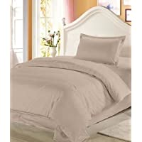 DHT PLAIN DOUBLE BED SHEET SET OF 3 PCS ,1 BEDSHEET AND 2 PILLOW COVERS