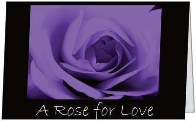 Valentines Day Love Purple Rose Spouse Sweetheart