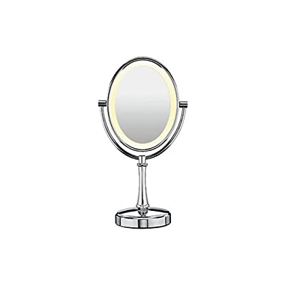 Best Cheap Deal for Conair Oval Shaped LED Double Sided Lighted Makeup Mirror from Conair - Free 2 Day Shipping Available