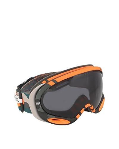 Oakley Máscara de Esquí OO7044-21 Naranja / Gris