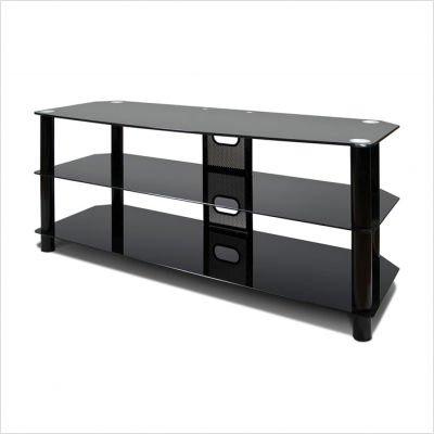 Cheap AvistaUSA Harmoni Two Classical Series Harmoni Two 48″ Three Shelves TV Stand in high Gloss Piano Black (Harmoni Two)