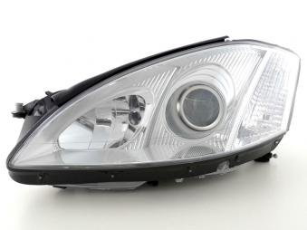 Spare parts headlight left Mercedes-Benz S-Classe (221) Yr. 05-09