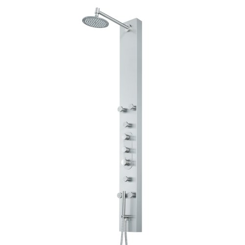 Cheapest Prices! VIGO VG08001 System Shower Panel, Steel