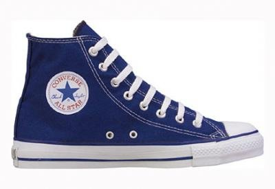 Converse Chuck Taylor All Star Hi Top Navy with Extra Pair of Black Laces men's 6/ women's 8