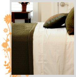 Pure Fiber 100%Viscose of Bamboo Bed Sheets King - Natural