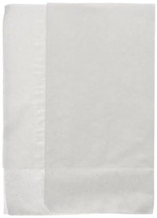 "Georgia-Pacific MorNap 37402 White Full Fold Dispenser Napkin, 17"" Length x 12"" Width (Case of 12 Bags, 500 Per Bag)"