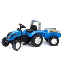 Amazon.com : Pedal Powered Landini Tractor And Trailer. : Baby