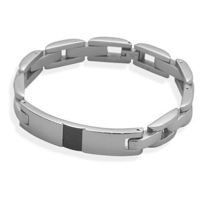 10.5mm 316L Stainless Steel ID Bracelet (8.75 Inch)