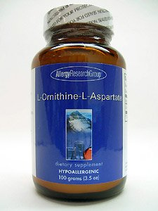 L-Ornithine L-Aspartate Allergy Research Group 100 g Powder