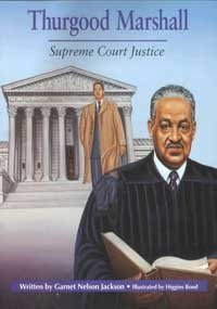 THURGOOD MARSHALL, SOFTCOVER, SINGLE COPY, BEGINNING BIOGRAPHIES