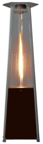 True-Commercial-Natural-Gas-Hammered-Mocha-Bronze-3-Sided-Pyramid-Style-Quartz-Tube-Patio-Heater-with-Wheels-NG