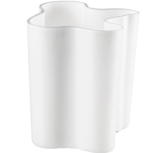 Iittala 000449 Aalto Vase 200 mm, opalweiß