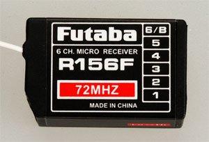 Futaba R156F 6-Ch FM 72MHz Micro w/o Short XTL